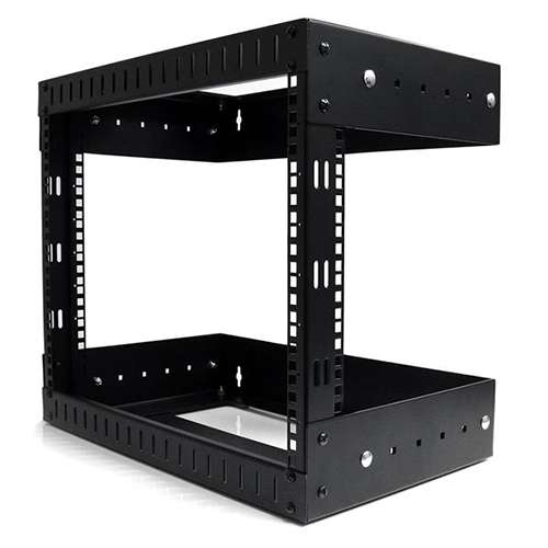 Wall Mount Equipment Rack 8U Adjustable Depth Image2