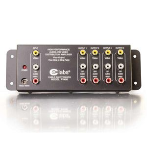 Cables To Go Audio/Video Distribution Amplifier