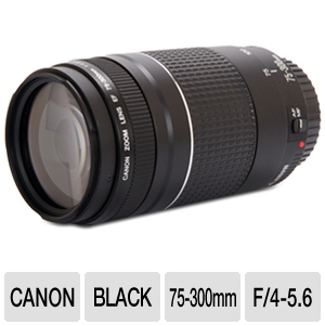 Alternate view 1 for Canon EF 75-300MM F/4-5.6 III Lens