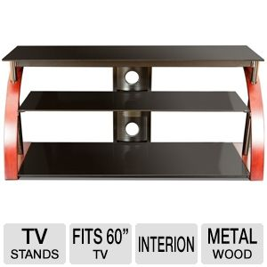 Cravin Tdrtnwb60 60 Tv Stand Fits Up To 65 Tvs Glass Metal And