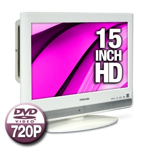 de4dcc21214b Toshiba 15LV506 15 Widescreen LCD TV with DVD Combo - 720p, 1366 x ...