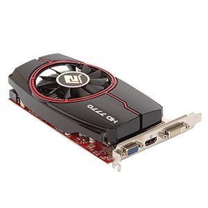 PowerColor Radeon HD 7770 1GB GDDR5 Video Card