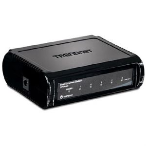 TRENDnet 5-Port 10/100Mbps Switch - TE100-S5 Image1