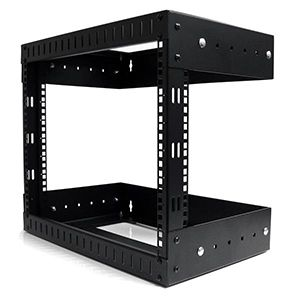 Wall Mount Equipment Rack 8U Adjustable Depth Image1