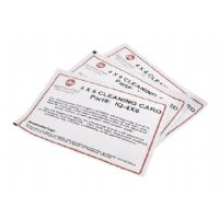 Datamax-O'Neil IQ - 1 - printer cleaning card kit (pack of 25 ) - for E-Class; H-Class; I-Class; M-Class (IQ-4X6)